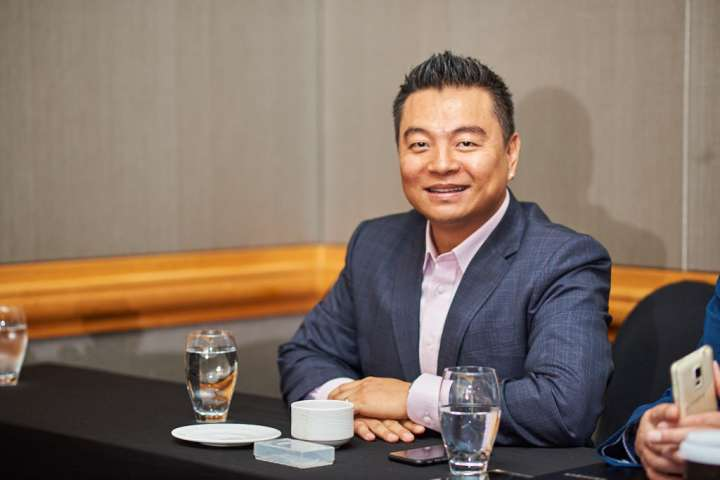 Portrait from a corporate event. Photo by Cristian Bucur Photographer in Tokyo Metropolitan Area