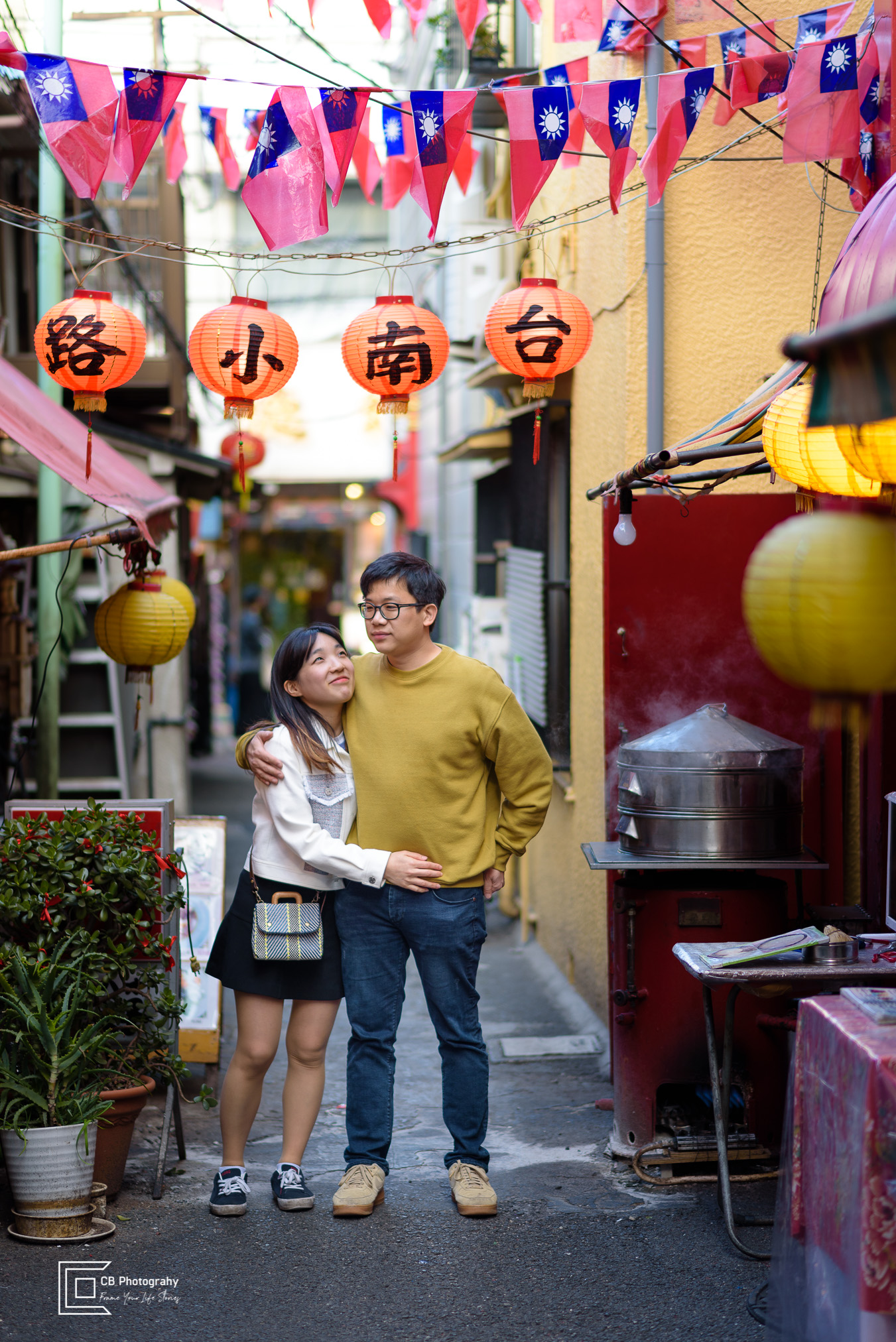 Couple-Portraits-China-Town-Yokohama