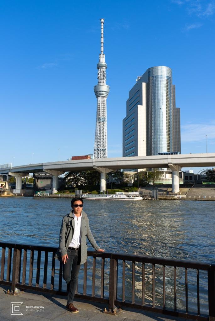 Male portrait taken in Asakusa Area by Cristian Bucur Photographer in Tokyo Metropolitan Area