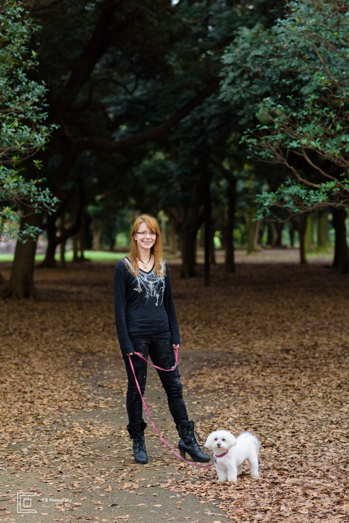 PET AND OWNER PHOTOGRAPHY: HEIKE AND HER DOG BLANCHE
