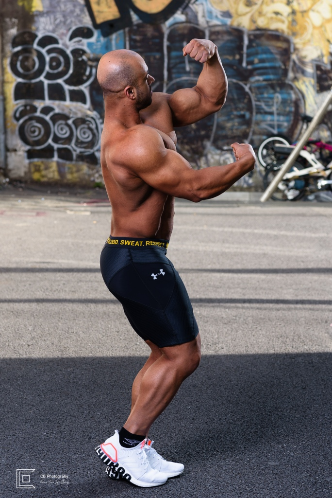 Bodybuilder photography by the Tokyo Photographer Cristian Bucur