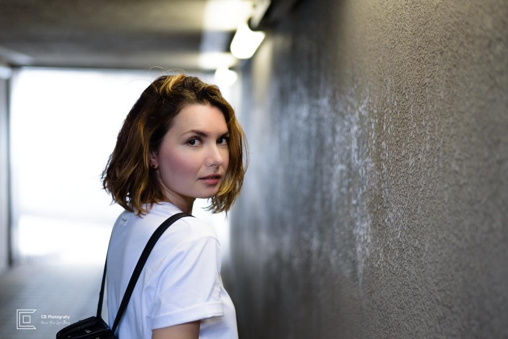 Woman's portrait by Tokyo Photographer Cristian Bucur