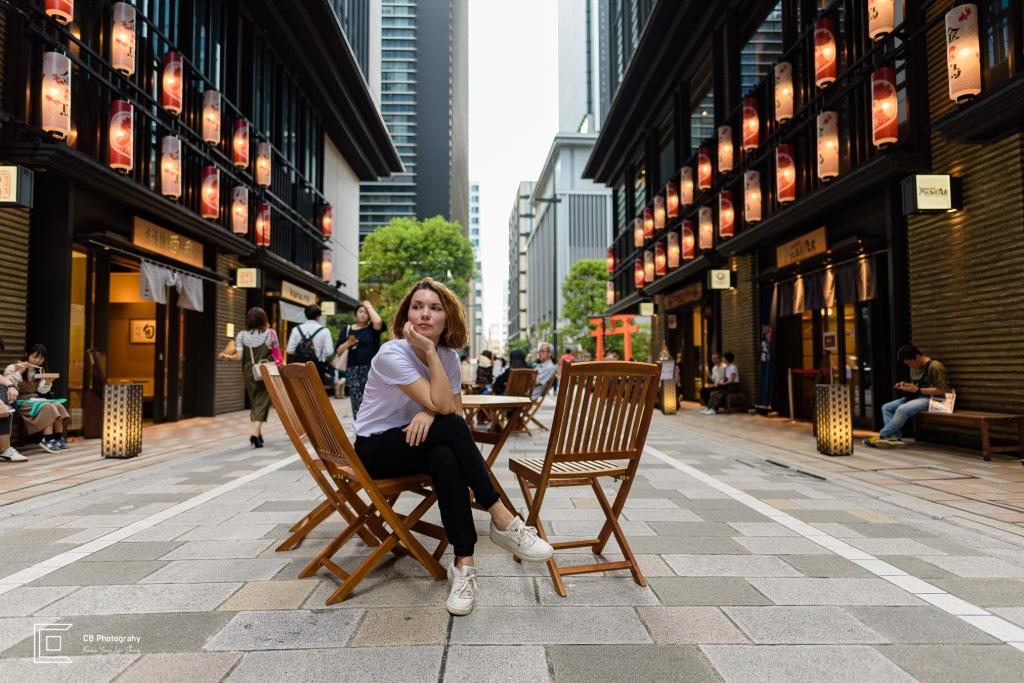 Portrait taken in Nihonbashi by Tokyo Photographer Cristian Bucur