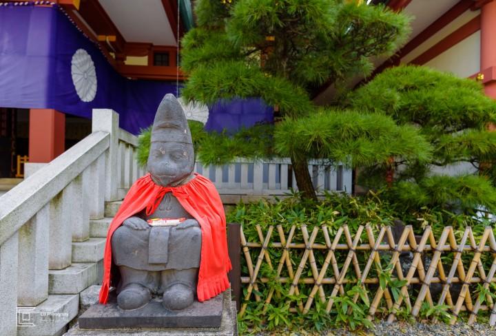 Monkey Statue at Hie Shrine, Tokyo