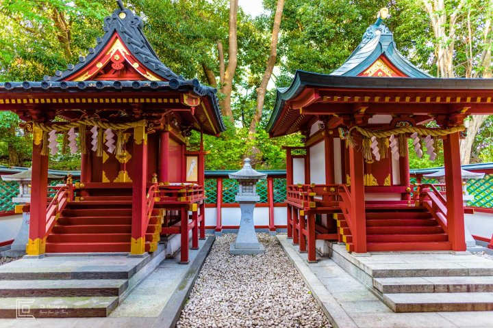 More temples inside the premises of the Hie Shrine, Tokyo