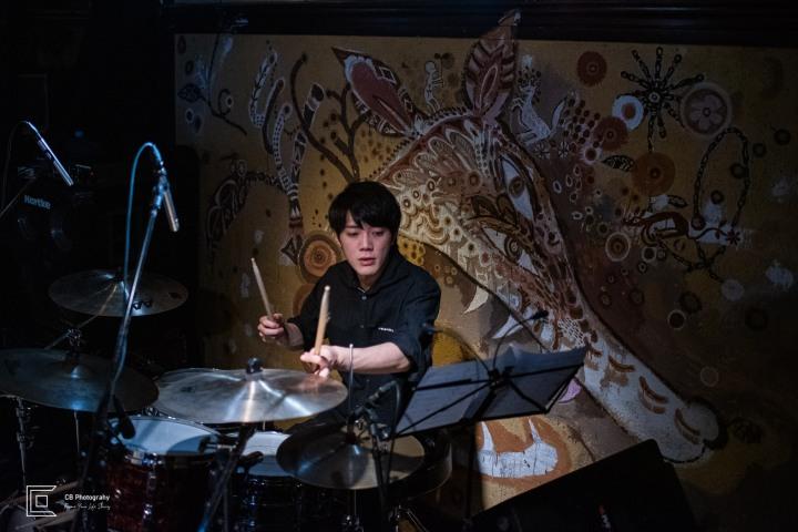 Drummer potrait