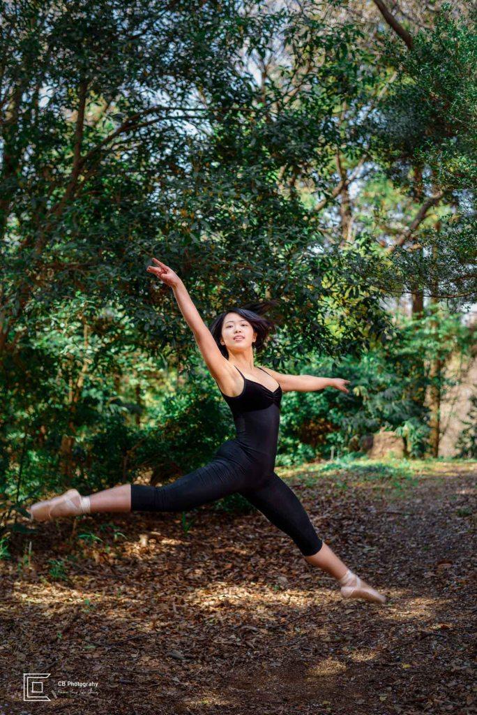 ballerina portrait by Tokyo Photographer Cristian Bucur