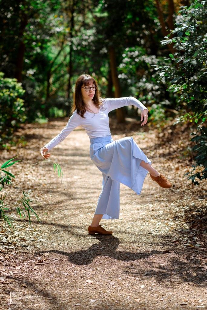 Dancer's portrait taken by Tokyo Photographer Cristian Bucur